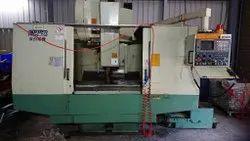 MAKE-TOPPER TMV-1100 VERTICAL MACHINE CENTER WORKING 1100X530X530 FANUC 18 M CONTROL