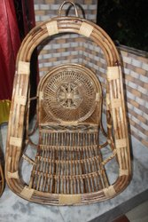 Deep Enterprise Brown Cane Hanging swing chair