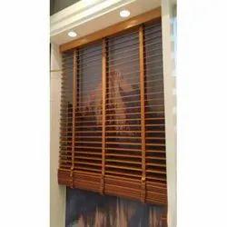 Plain Brown Fancy Wooden Window Blinds