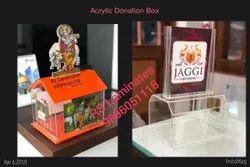 Acrylic Cow Donation Box