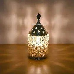 Decorative Crystal Diya for Diwali Gifting