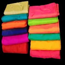 44-45 Multicolor Sana Silk Saree Fabric, Gsm: 80