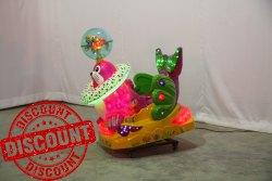 Rotating Seal Kiddie Amusement Ride Game
