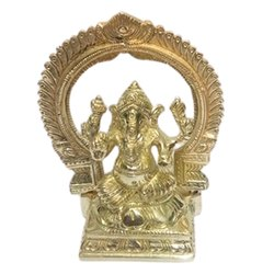 Modern Brass Ganesha Statue