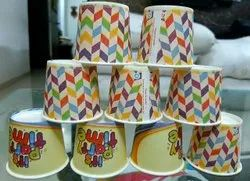 Multicolor 85 ml Disposable Tea Paper Cups, For Parties, Packet Size: 50