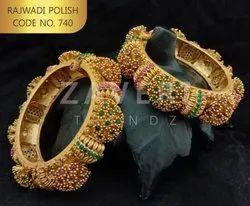 Rajwadi Polish Bangles