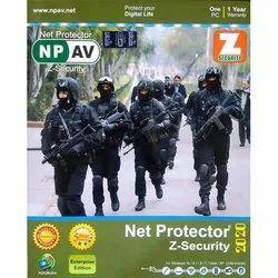 Npav Net Protector Z-Security - 1 PC 1 Years, For Windows