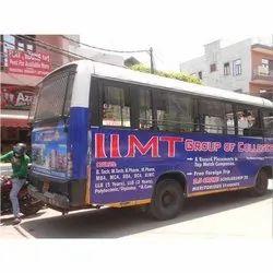 Outdoor Delhi City RTV Buses Advertising Service