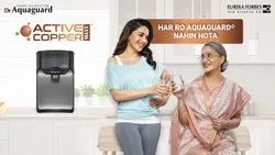 Black Aquaguard RO Water Purifiers, For Domestic, Capacity: 7.1 L to 14L