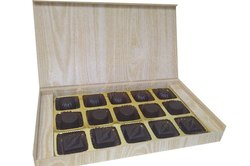 Brown Rectangular Diwali Premium Homemade Chocolates