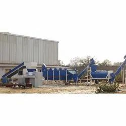 Plastic Washing Machinery Plant
