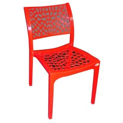 Designer Red Plastic Chairs
