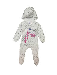 New Born Baby Unisex Hooded Roompers Dgn 526