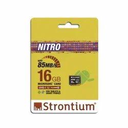 Slim Black Strontium Nitro 16GB Micro SDH