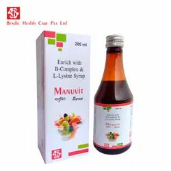 Enrich With B-Complex And L-Lysine Syrup