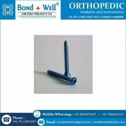 Orthopedic Implants Cortex Screw