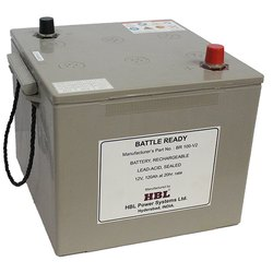 DG2XL750 HBL SMF Genset Starting Battery