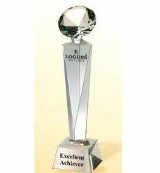CG 136 Victory Diamond Crystal Trophy