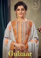 Kaara Gulzaar Jam Cotton Print With Embroidery Work Suits Catalog