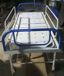 SE-23A STD.FOWLER BED WITH WHEEL AND SDE RAILING