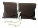Vintage Brown Leather Goggle Case