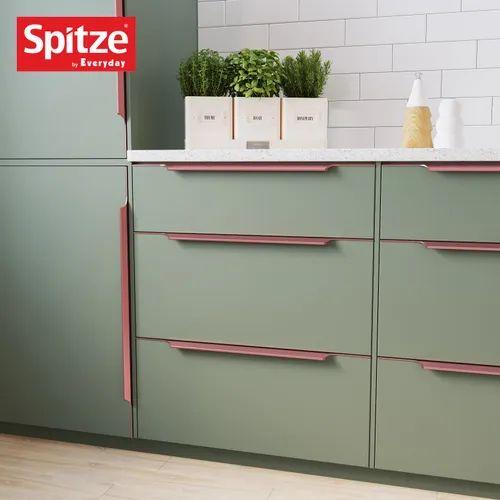 Aluminium Gold Copper Kitchen Pull, Copper Coloured Kitchen Cabinet Handles