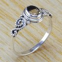 Peridot Gemstone Semi Precious 925 Sterling Silver Small Rings