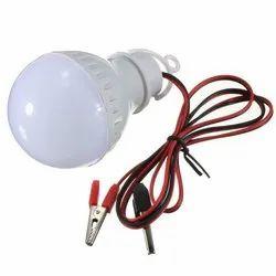 Round Cool White 7W DC LED Bulb