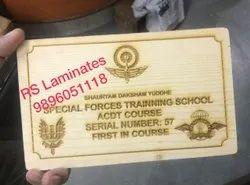Wood Laser Engraving Service