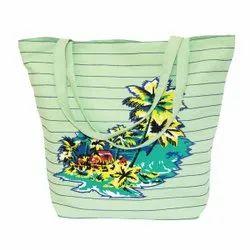 Sandex Corp处理棉花携带沙滩袋,容量:5kg