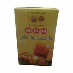 MDH Pav Bhaji Masala, Packaging Size: 100 g, Packaging Type: Box