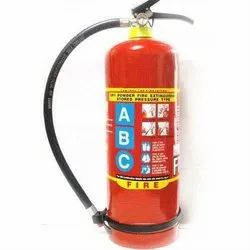 Mild Steel A B C Dry Powder Type ABC Fire Extinguisher, For Office, Capacity: 6kg