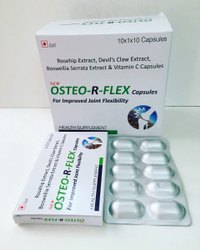 Rosehip Extract, Devils Claw, Boswellia Serrata Extract & Vitamin C Capsules