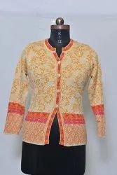 1402 Woolen Ladies Cardigan