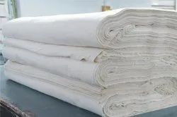 For Textile Plain white bleached fabric