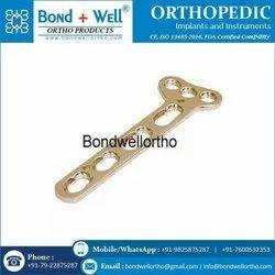 Orthopedic T Oblique Locking Plate