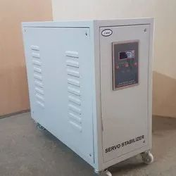 Automatic 50 kVA Three Phase Air Cooled Servo Stabilizers, With Surge Protection, 290 V