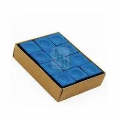 12 Pcs JBB Triangle Billiards Chalk