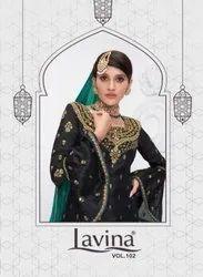 Lavina Vol-102 Dola Silk Straight Salwar Kameez Catalog