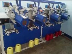 Automatic cone winding machine