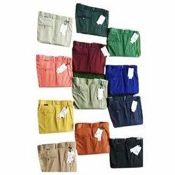 Plain Mens Lycra Pant, Size: 30-36