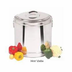 Stainless Steel Hot Pot, For Hotel/Restaurant, Capacity: 5000ml