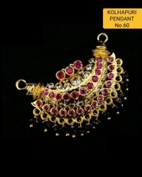 60 Kolhapuri Fashion Pendant