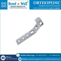 Orthopedic Implants L Buttress Plate