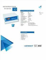 LT- 10 pH Meter 3 Point Calibration