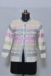 605 Woolen Ladies Cardigan