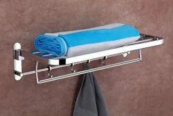 SS Bathroom Towel Hanger