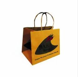 Brown Printed Paper Bag - BABA Foods, For Packaging, Capacity: 2kg