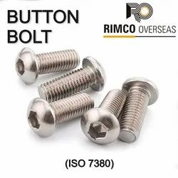 Stainless Steel Button Head Bolt