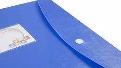PP Blue Color Sheet